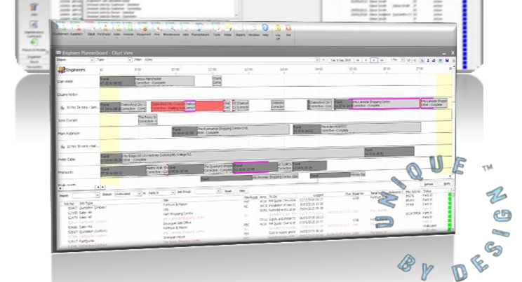 Customised business management system